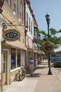 downtown Alliston