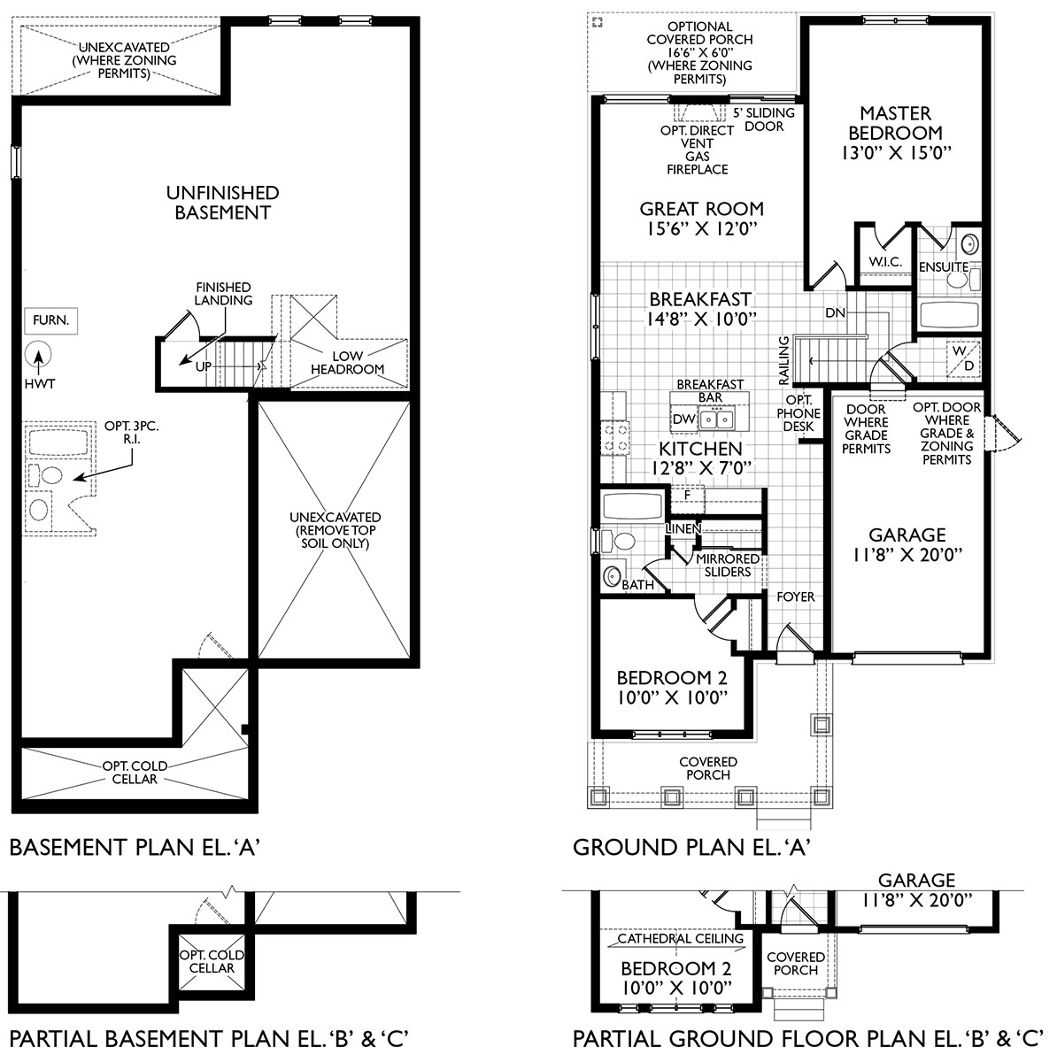 Blackbird Floor Plans