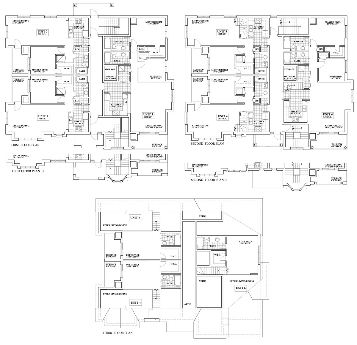 Alliance homes ltd ontario home builder creemore for 6 plex floor plans